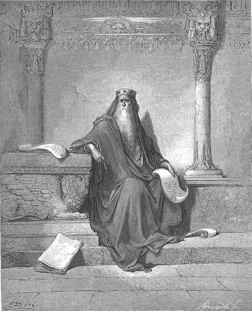 Król Salomon Źródło: Gustave Doré, Król Salomon, 1866, domena publiczna.