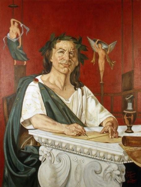 Quinto Orazio Flacco Źródło: Giacomo Di Chirico, Quinto Orazio Flacco, domena publiczna.