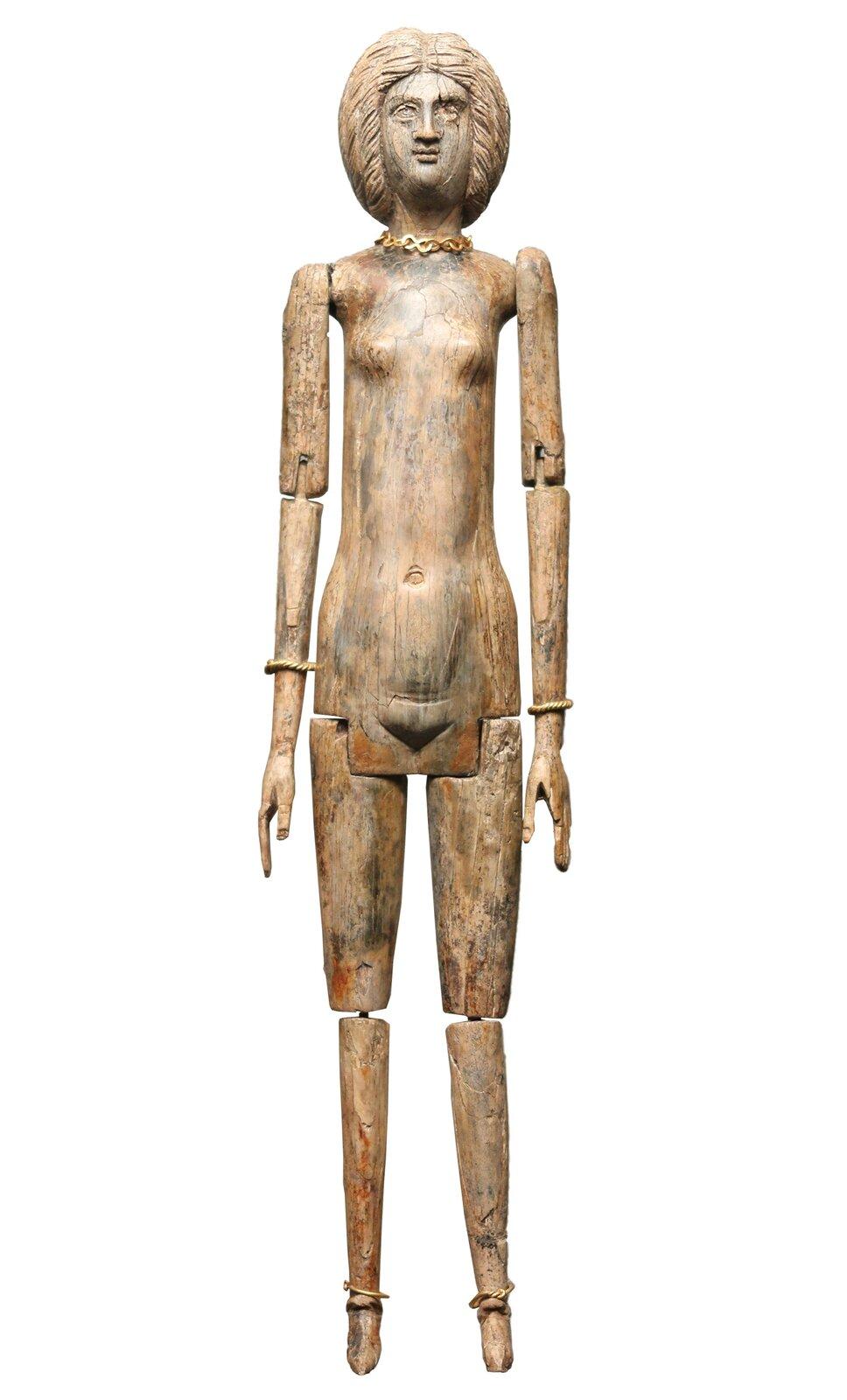 rzymska lalka Źródło: Ryan Baumann, Wikimedia Commons, licencja: CC BY 2.0.