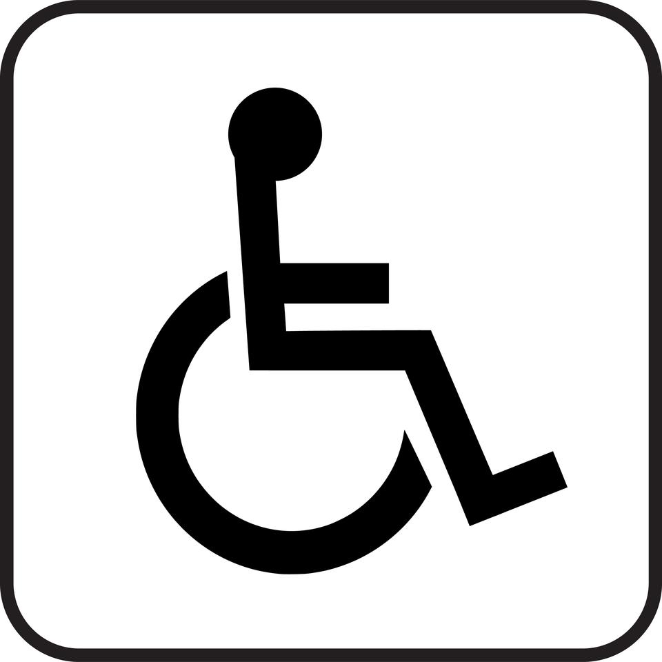 Piktogram - niepełnosprawni