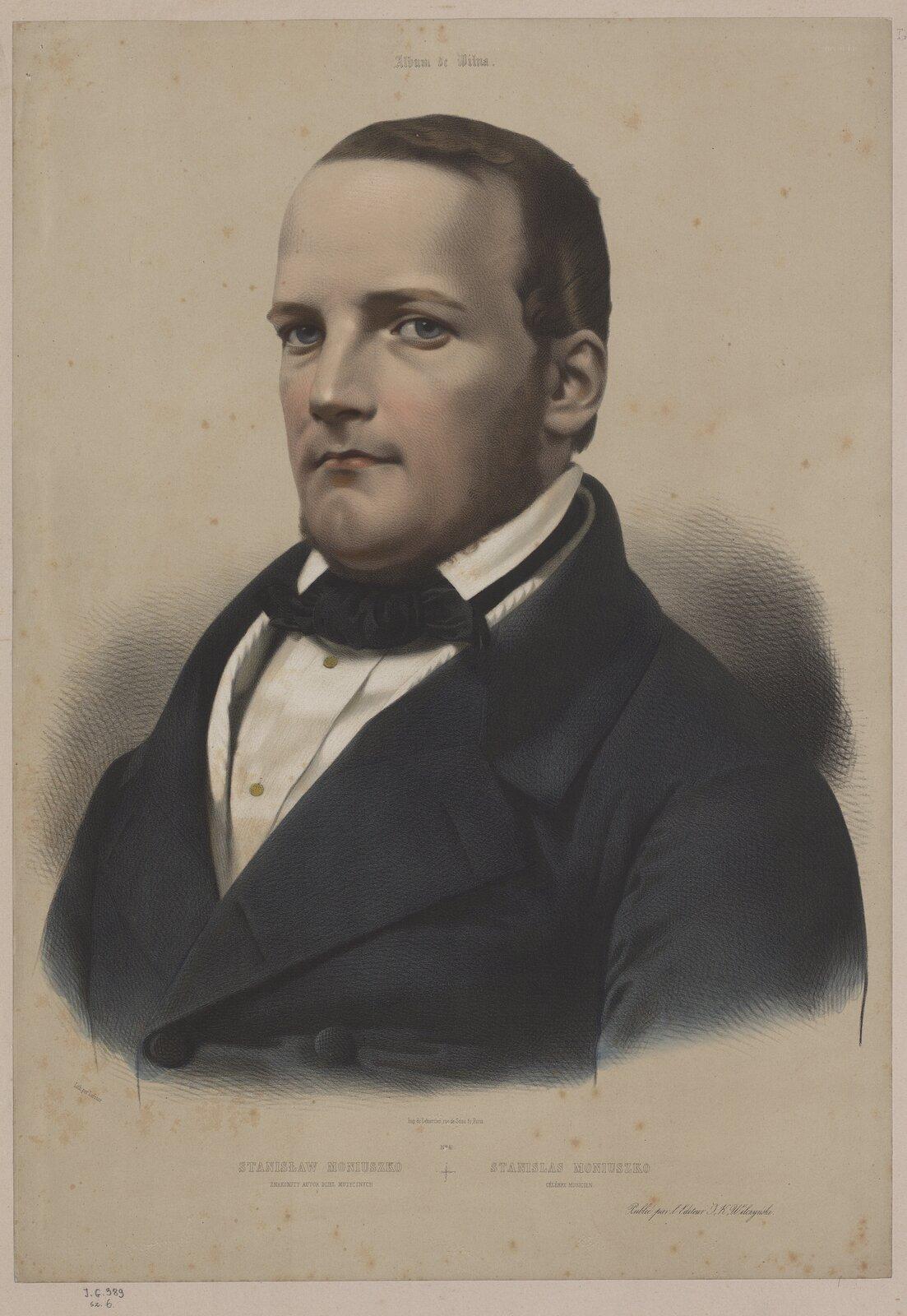 Stanisław Moniuszko Źródło: licencja: CC 0.