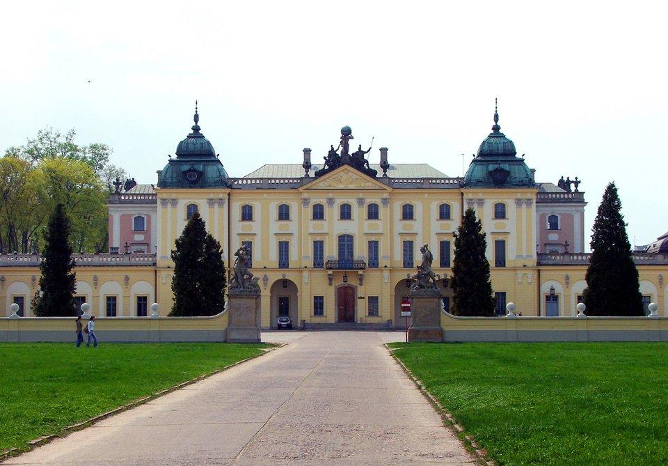 Pałac Branickich wBiałymstoku Pałac Branickich wBiałymstoku Źródło: Sebastian Maćkiewicz, Wikimedia Commons, licencja: CC BY-SA 2.5.