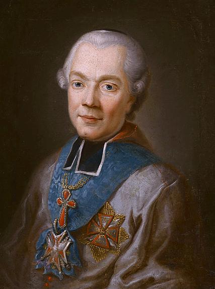 Ignacy Jakub Massalski Źródło: Franciszek Smuglewicz, Ignacy Jakub Massalski, domena publiczna.