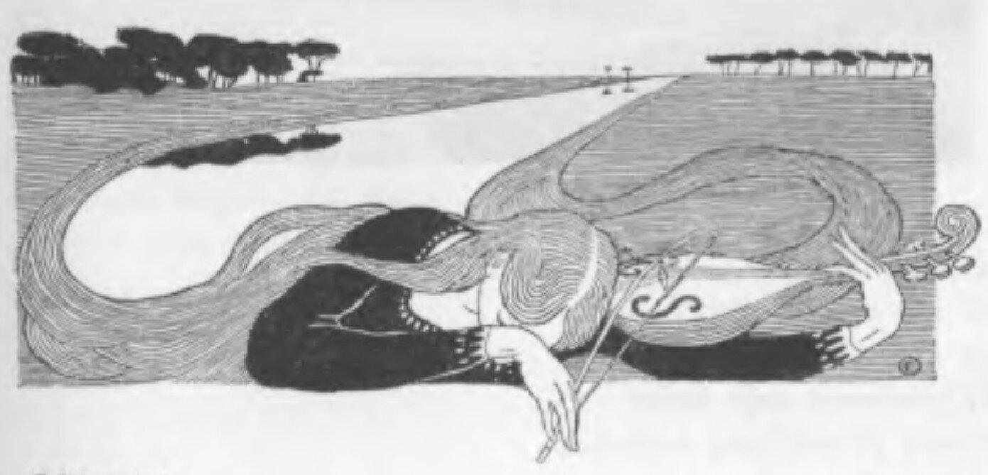 EdwardOkuń, ilustracja do Salve Regina Jana Kasprowicza, Chimera 1901, t. 1, z. 4-5, s. 53. EdwardOkuń, ilustracja do Salve Regina Jana Kasprowicza, Chimera 1901, t. 1, z. 4-5, s. 53. Źródło: domena publiczna.