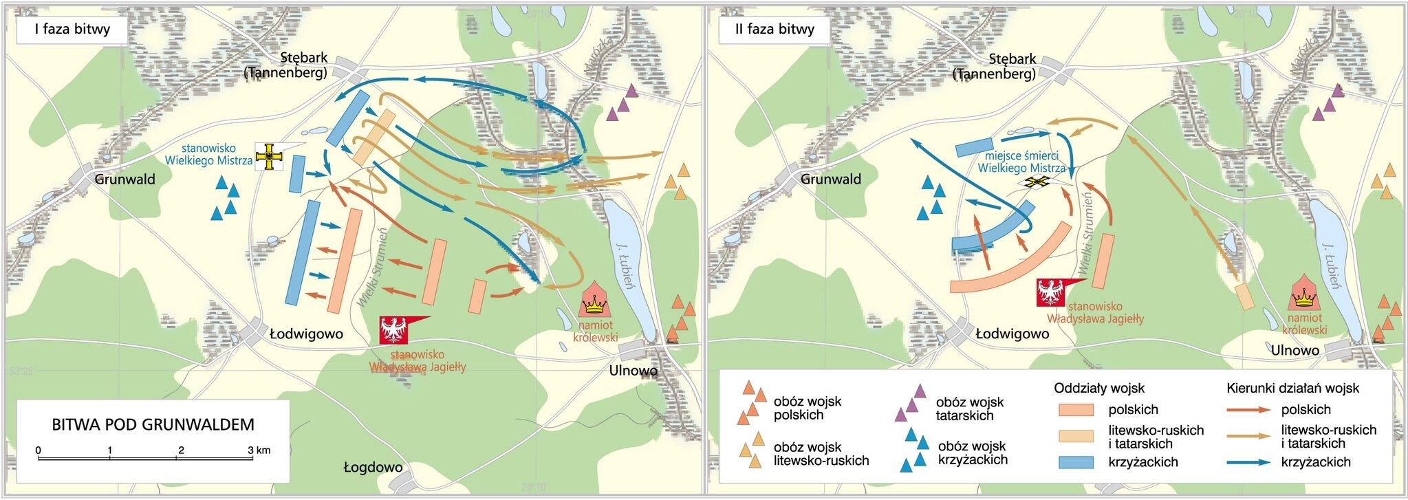 Bitwa pod Grunwaldem Źródło: Krystian Chariza izespół, Bitwa pod Grunwaldem, licencja: CC BY 3.0.