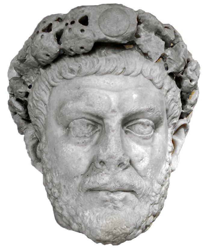 Cesarz Dioklecjan Cesarz Dioklecjan Źródło: G.dallorto, Wikimedia Commons, licencja: CC BY-SA 3.0.