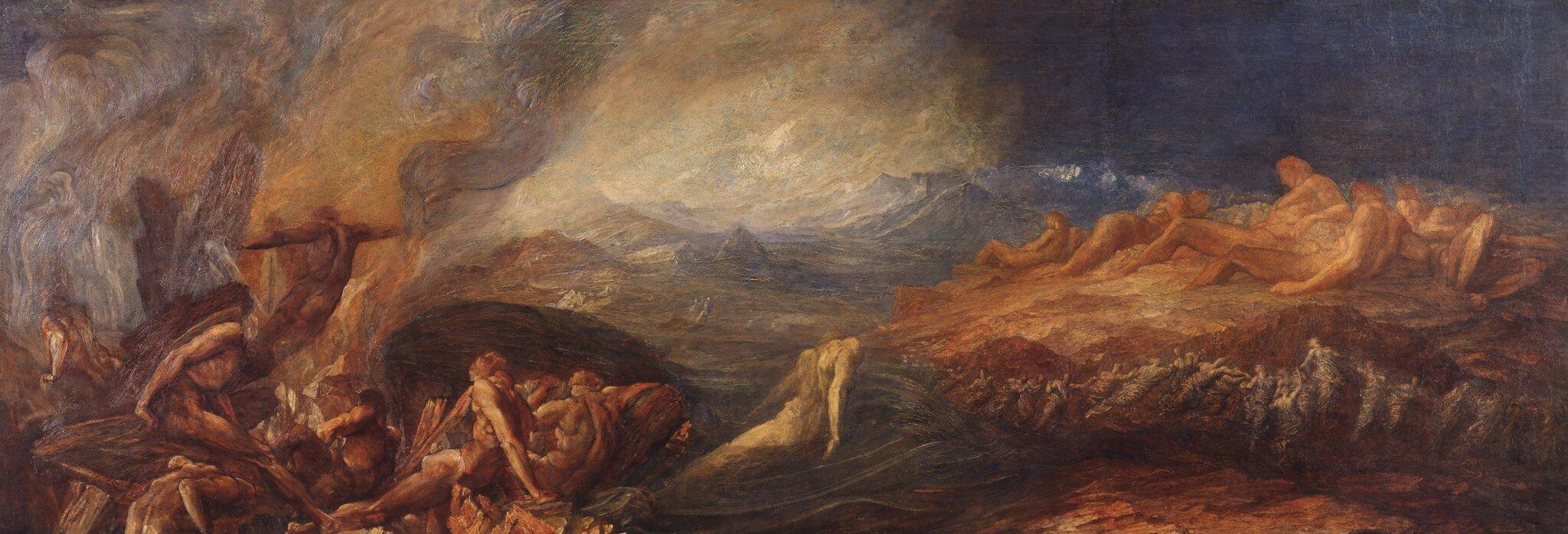 Chaos Źródło: George Frederic Watts, Chaos, ok. 1875, olej na płótnie, Tate Britain, domena publiczna.
