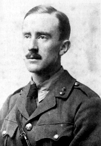 John Ronald Reuel Tolkien Źródło: domena publiczna.