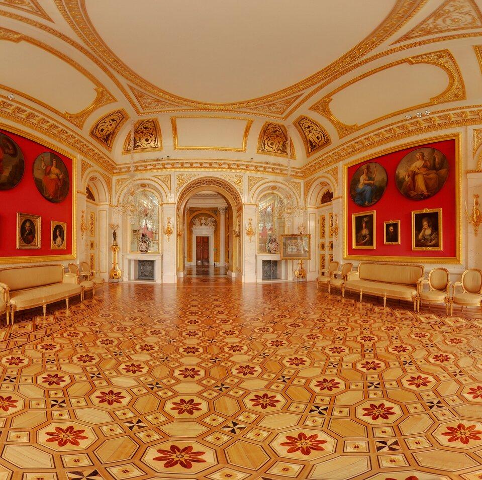 Wirtualna wycieczka po Łazienkach Królewskich wWarszawie