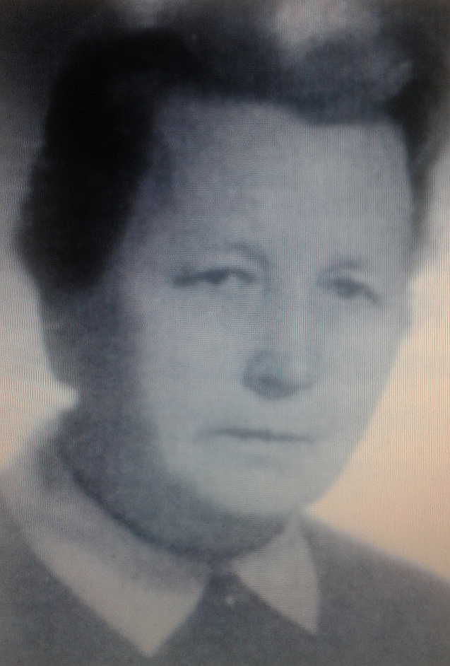 Halina Sosnowska w1966 Halina Sosnowska w1966 Źródło: Sloggi, licencja: CC BY-SA 3.0.