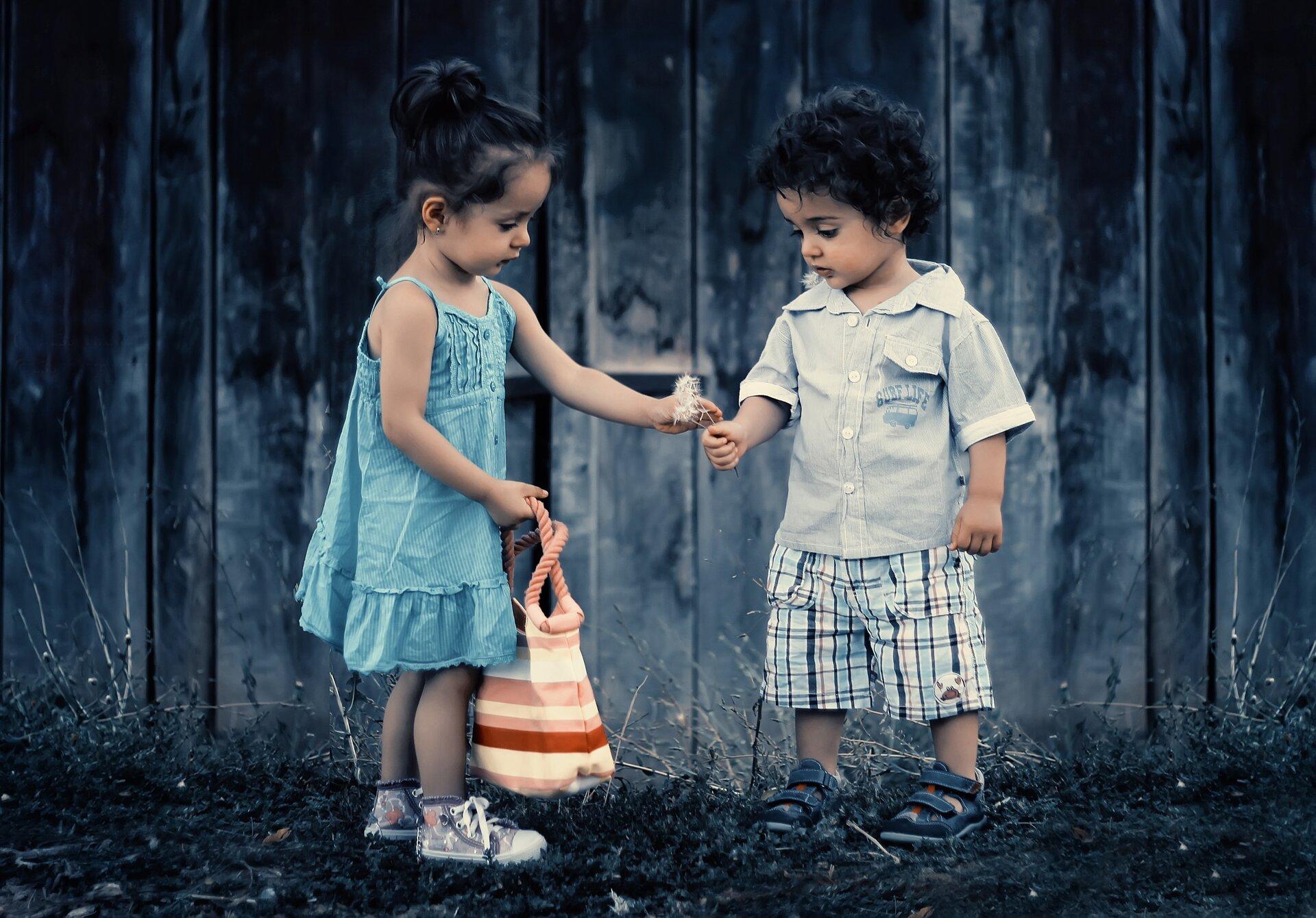 dzieci - jaki mają skarb Źródło: pixabay, licencja: CC 0.