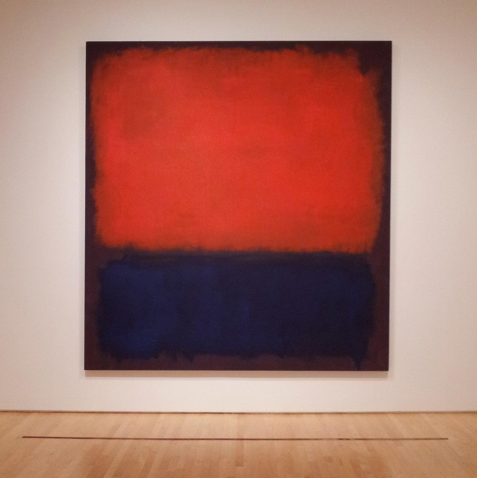 Number 14 291 x268 cm, , San Francisco Źródło: Mark Rothko, Number 14, 1960, olej na płótnie, Museum of Modern Art, San Francisco, licencja: CC 0.
