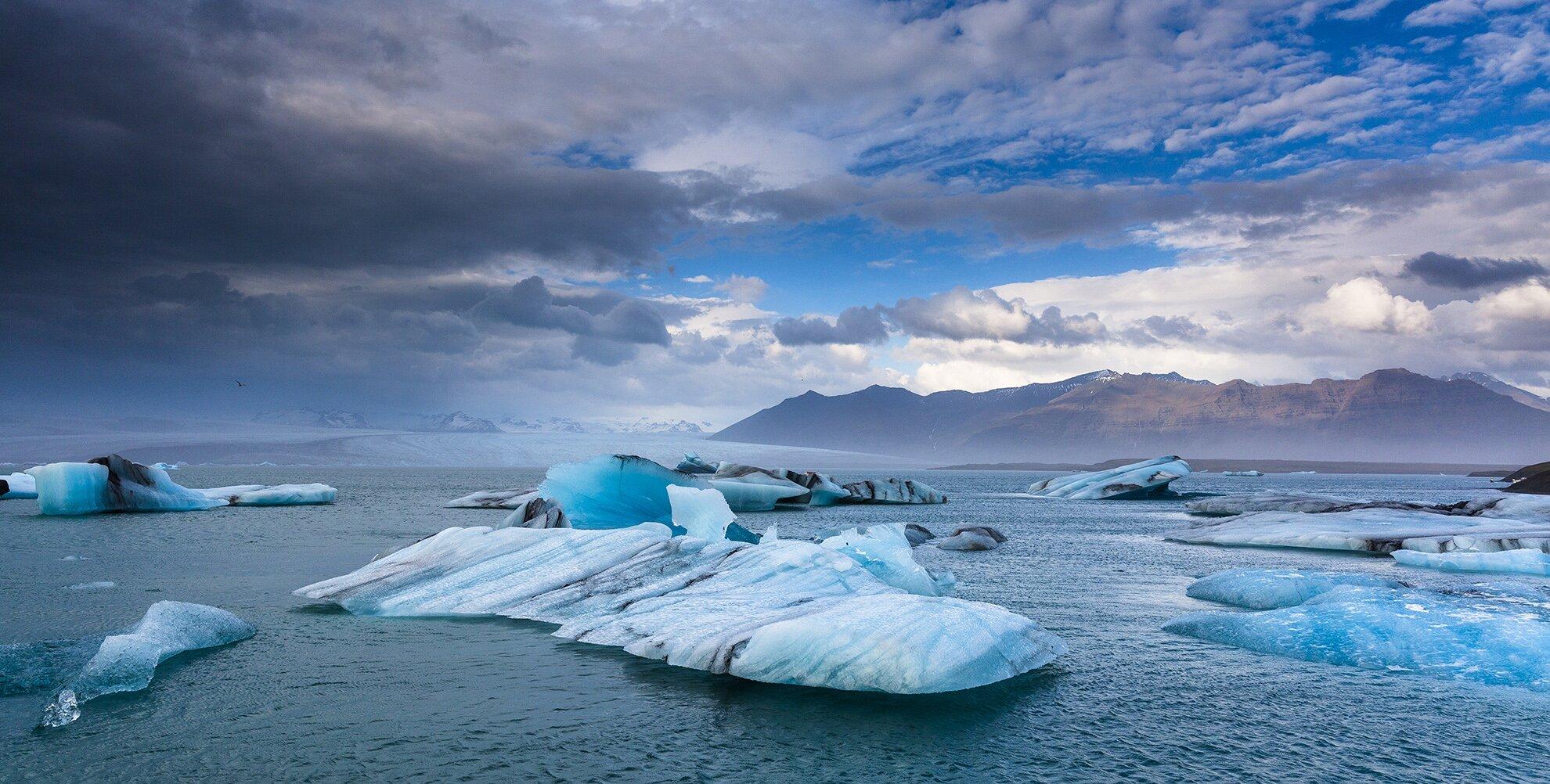 lodowiec zdjęcie Źródło: licencja: CC 0.