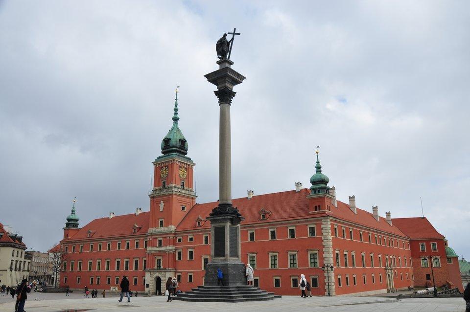 Zamek Królewski wWarszawie Zamek Królewski wWarszawie Źródło: Spitfire303, Wikimedia Commons, licencja: CC BY-SA 3.0.