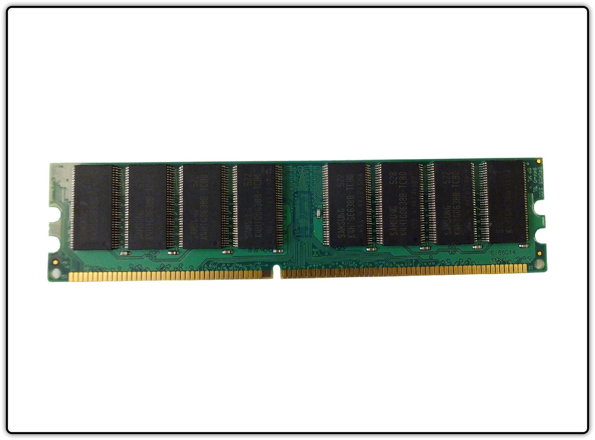 Slajd 1 galerii fotografii modułów pamięci