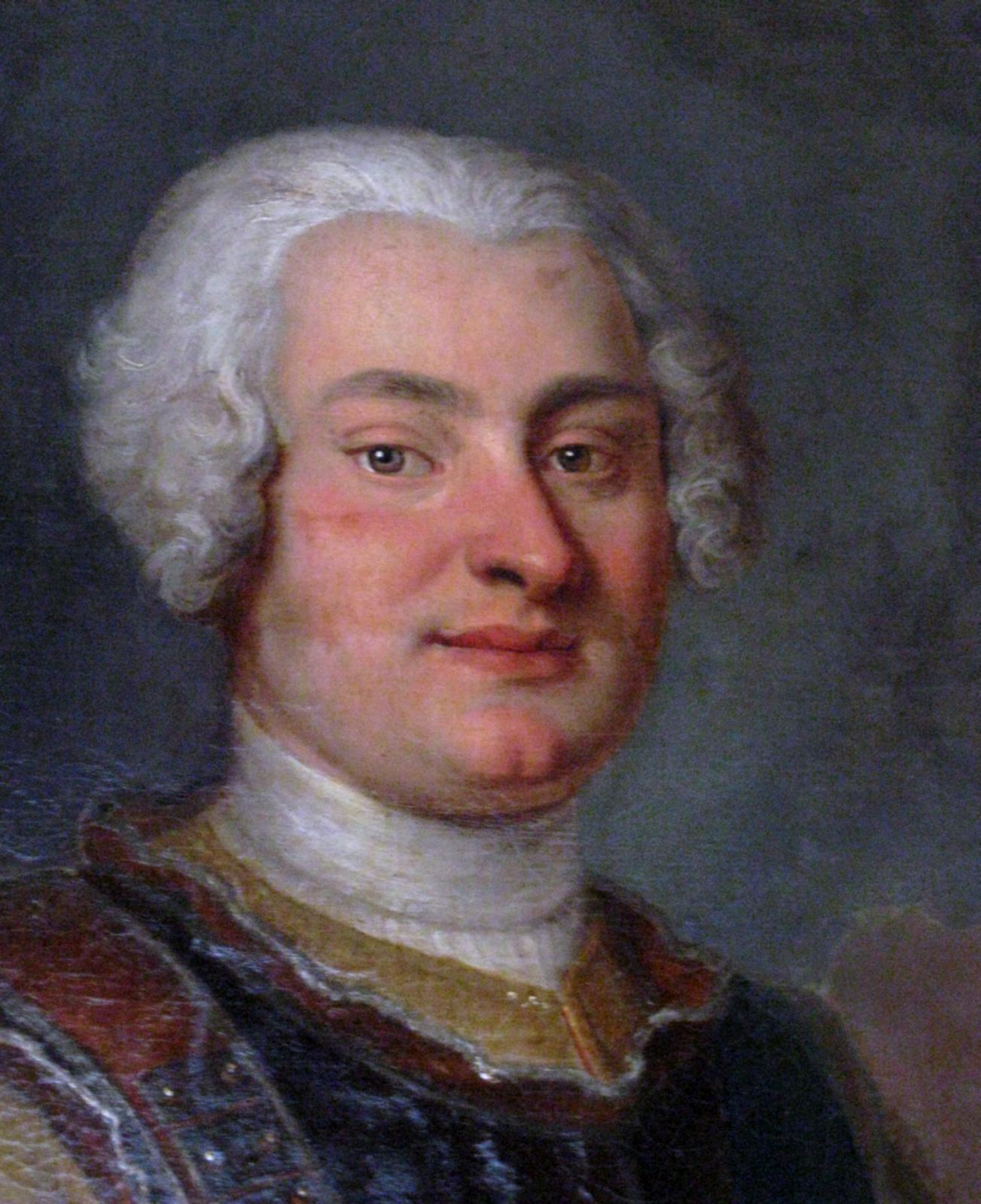 Fryderyk August Rutowski Źródło: Louis de Silvestre, Fryderyk August Rutowski, 1724, Maciej Szczepańczyk, licencja: CC BY-SA 3.0.