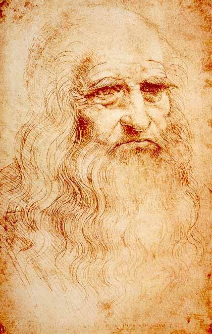 autoportretLeonarda da Vinci