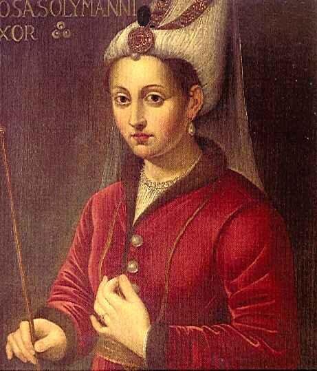 Roksolana Źródło: Roksolana, XVI w., Jak Amran Collection, Istanbul, domena publiczna.