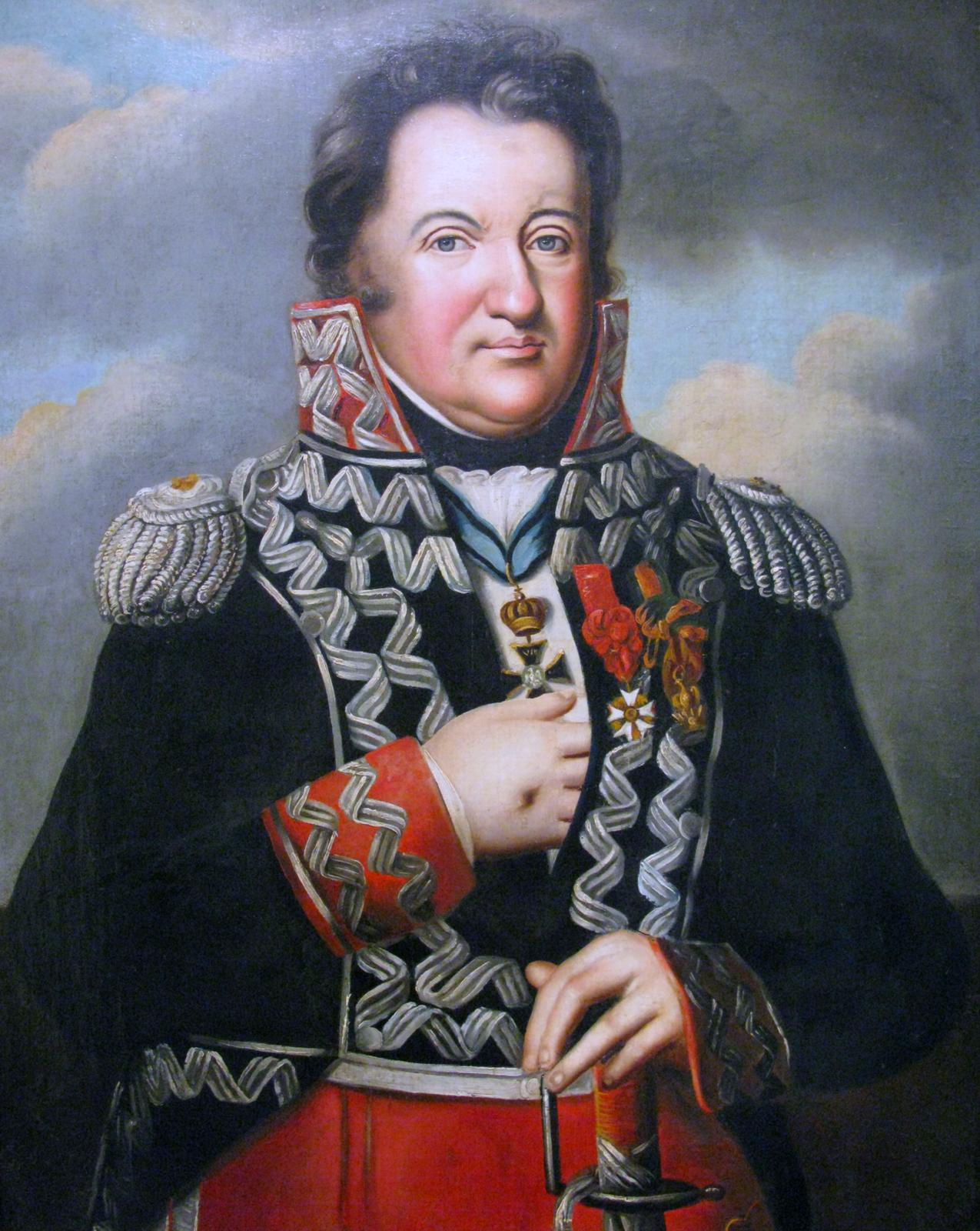 Jan Henryk Dąbrowski Źródło: nieznany Polak, Jan Henryk Dąbrowski, olej na płótnie , Polish Army Museum, domena publiczna.