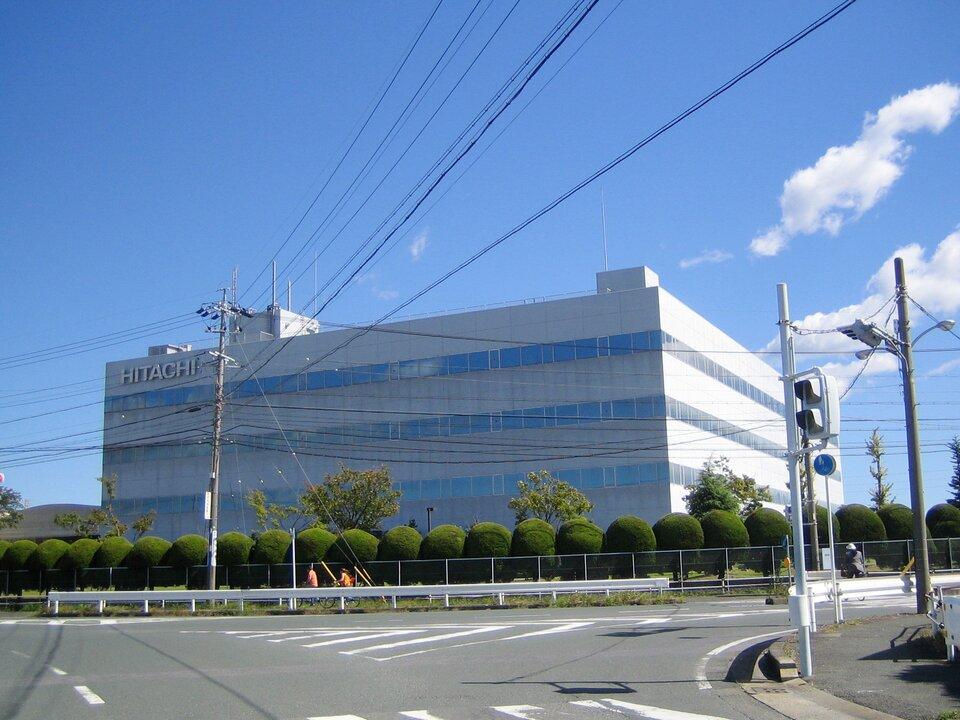 Jedna zwielu fabryk japońskiego koncernu Hitachi produkującego sprzęt elektroniczny, elektrotechniczny, telekomunikacyjny, budowlany iin.