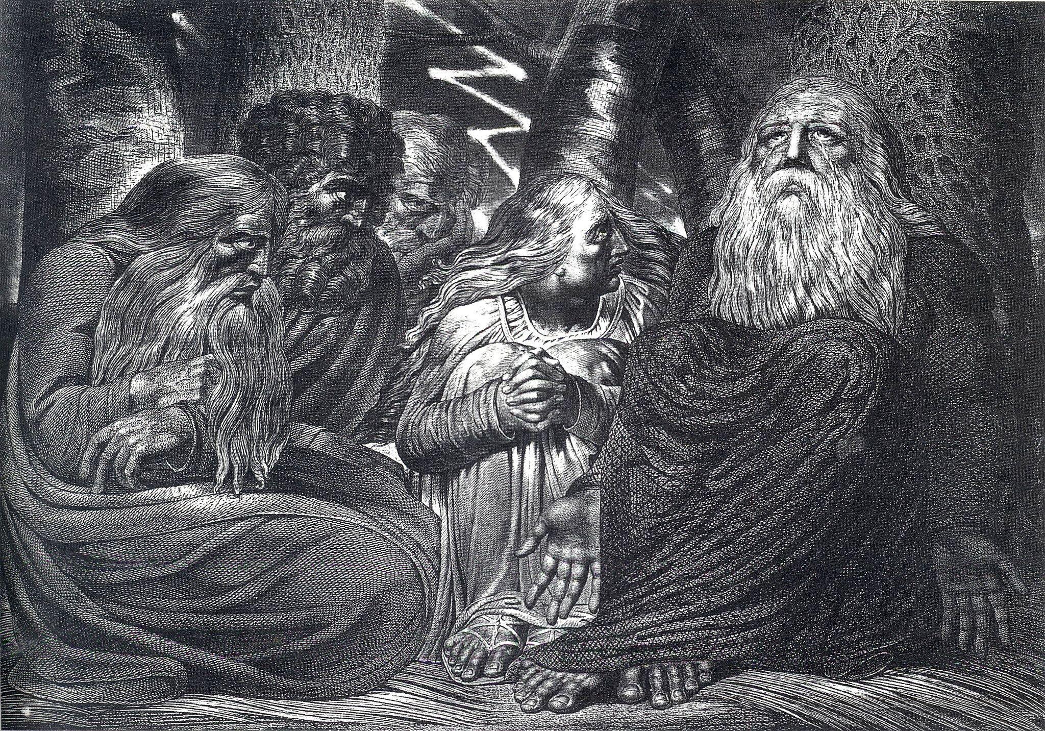 Hiob Źródło: William Blake, Hiob, 1785–90, domena publiczna.