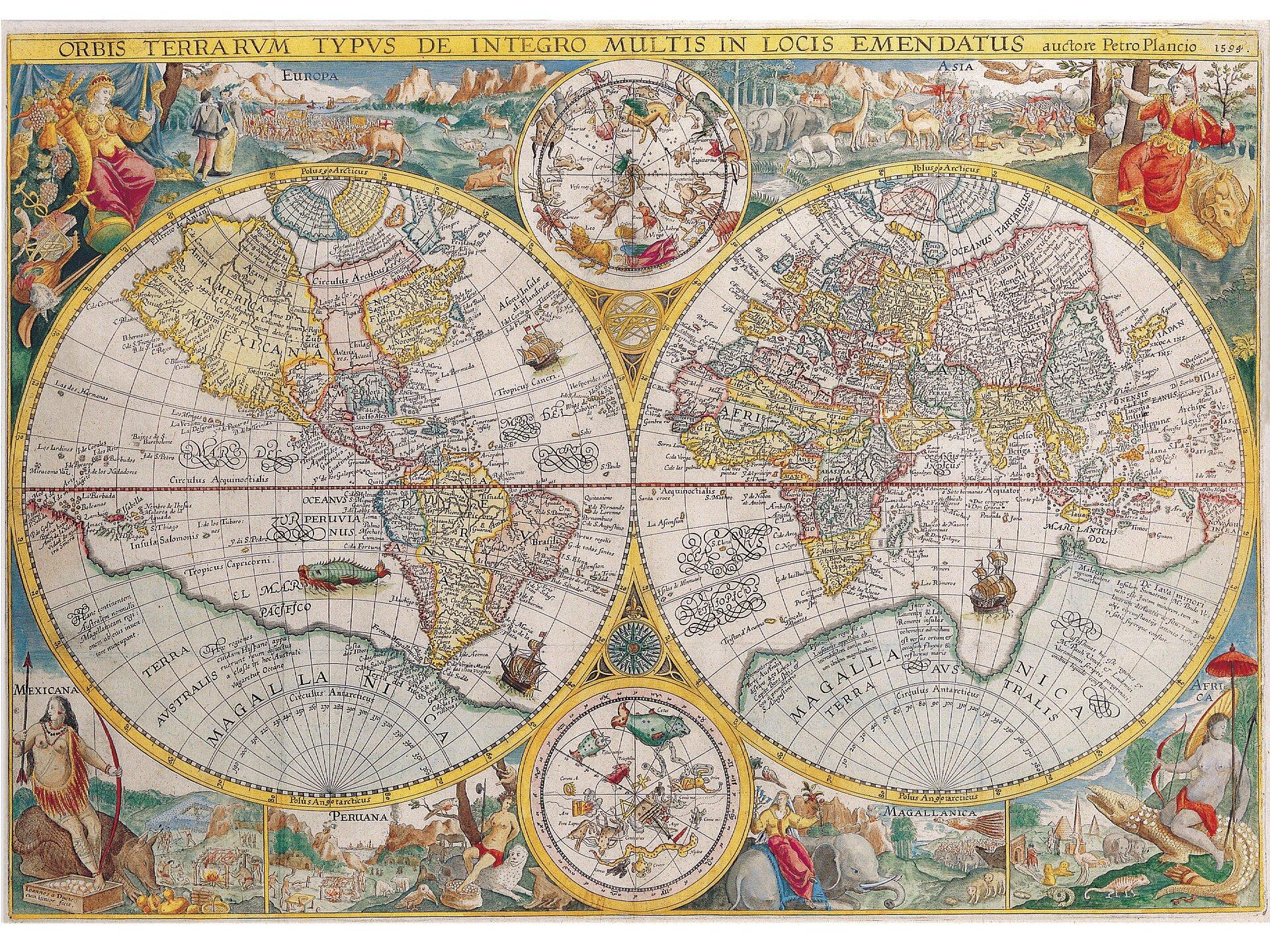 Mapa_stara Źródło: www.pixabay.com, domena publiczna.