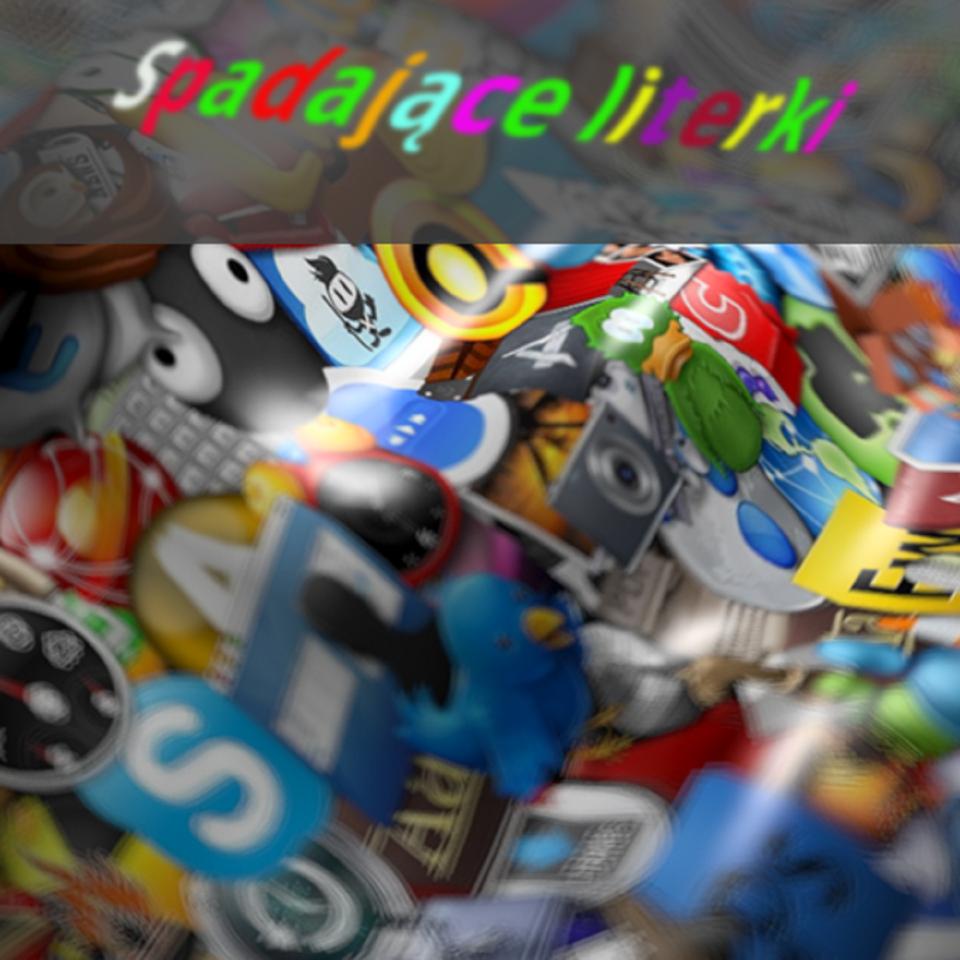 Gra: Spadające literki