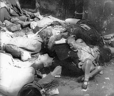Tragedialudności cywilnej Warszawy Tragedialudności cywilnej Warszawy Źródło: domena publiczna.