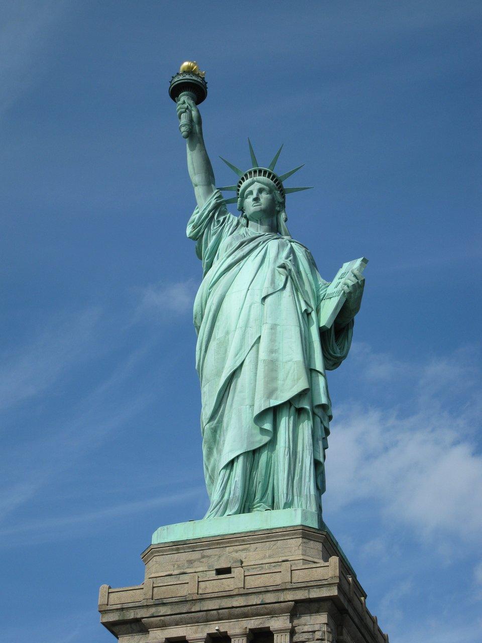 Statua Wolności Statua Wolności Źródło: licencja: CC 0.