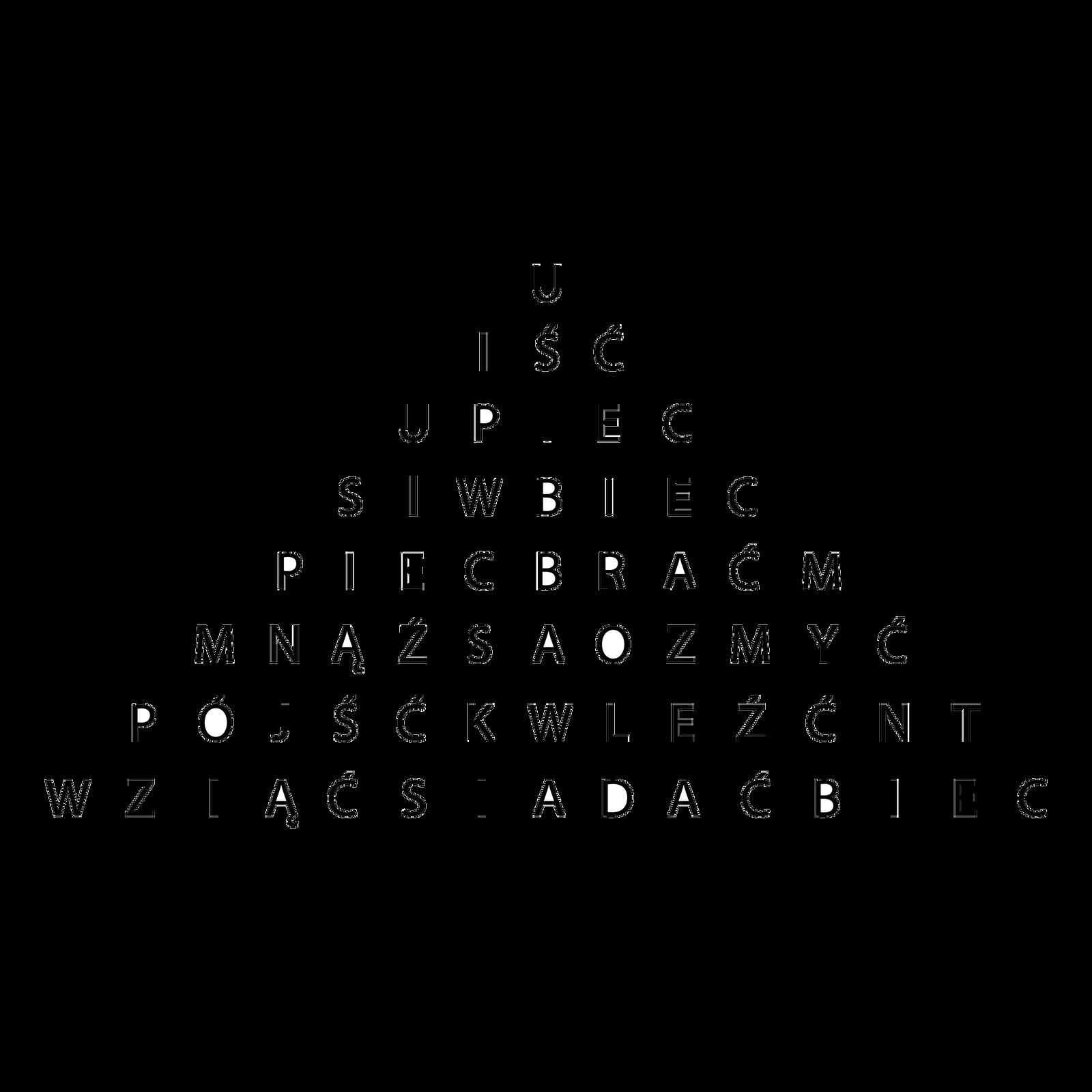 piramida słowna zczasownikami