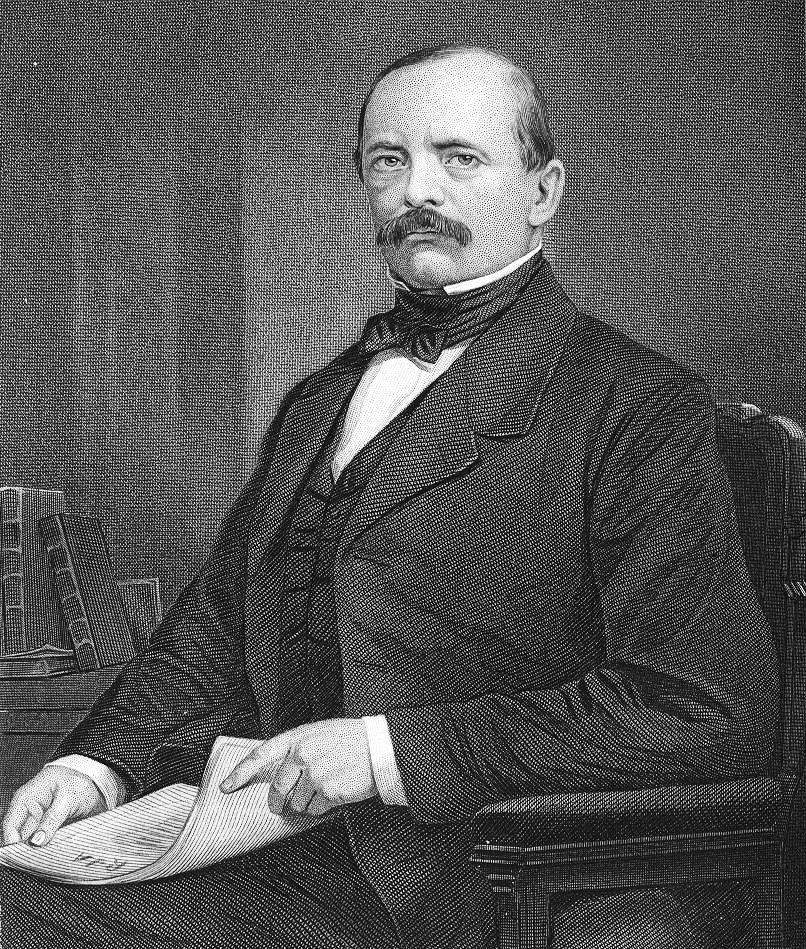 Otto von Bismarck Źródło: Evert Duykinck, Otto von Bismarck, 1873, domena publiczna.