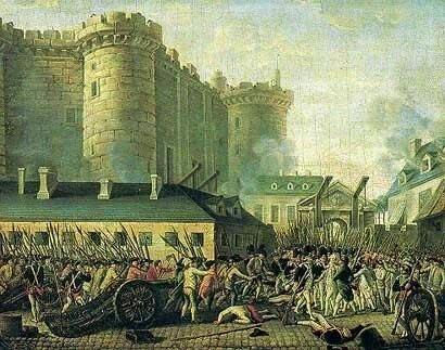 Oblężenie Bastylii Źródło: Oblężenie Bastylii, domena publiczna.