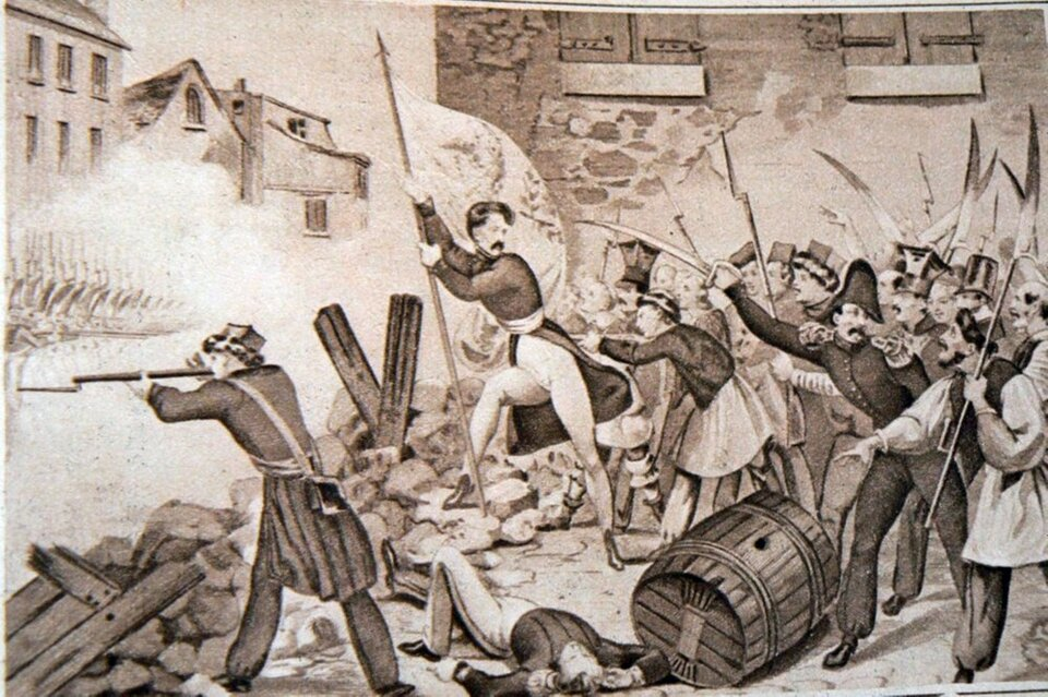 Reduta Ordona Reduta Ordona Źródło: autor nieznany, XIX wiek, domena publiczna.