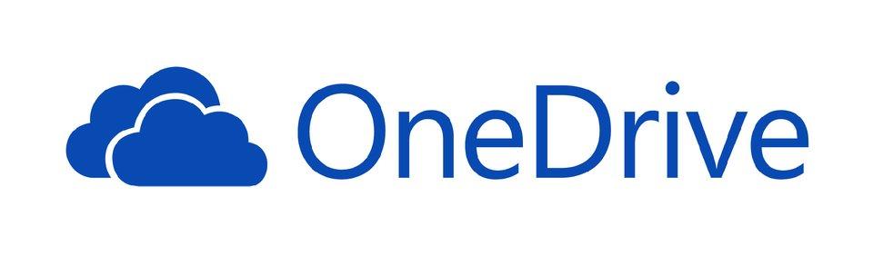 Ilustracja przedstawiająca logo OneDrive