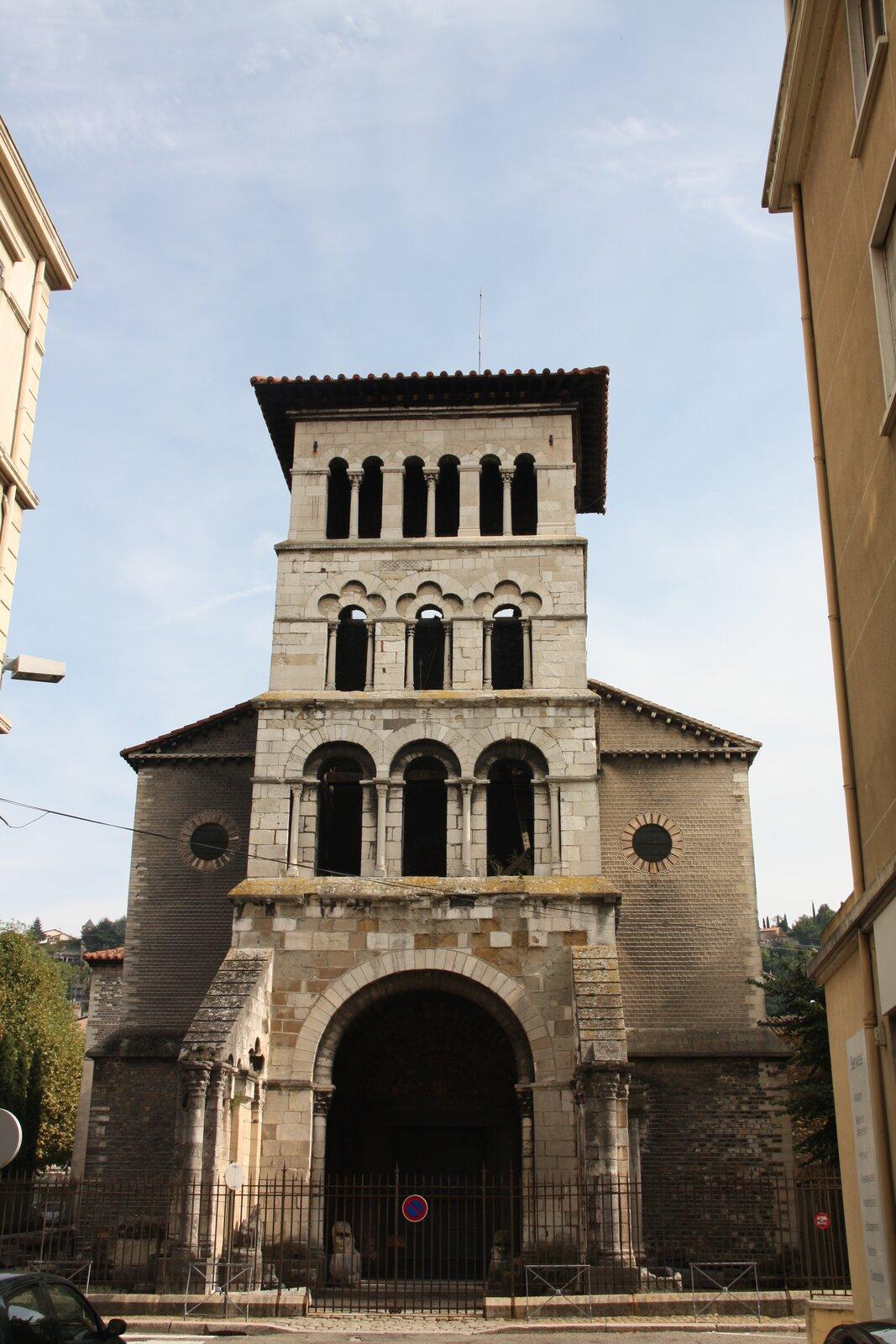 Kościół św. Marcina wVienne, Francja Kościół św. Marcina wVienne, Francja Źródło: Otourly, licencja: CC BY-SA 3.0.