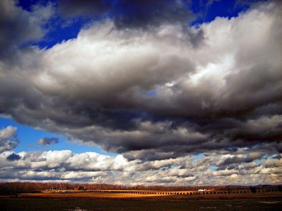 Fotografia chmury typu Stratocumulus