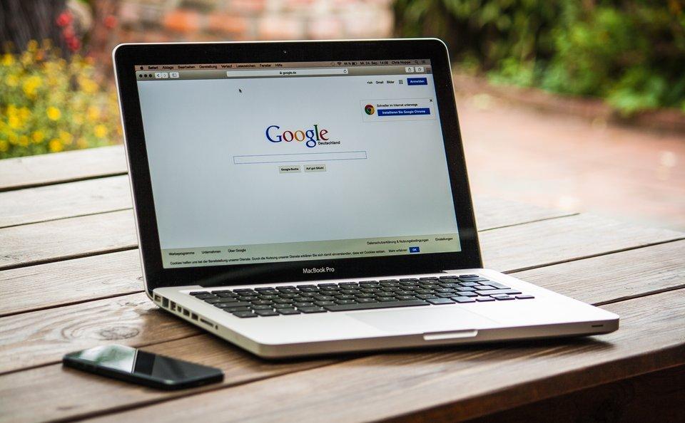 google - marka firmy Źródło: pixabay, licencja: CC 0.