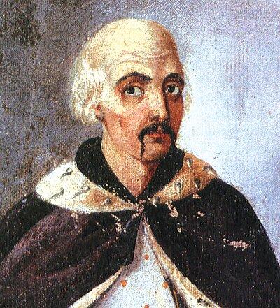 Seweryn Nalewajko (data ur. nieznana, zm. 1597)wg portretu nieznanego autora zXVIII w. Seweryn Nalewajko (data ur. nieznana, zm. 1597)wg portretu nieznanego autora zXVIII w. Źródło: domena publiczna.