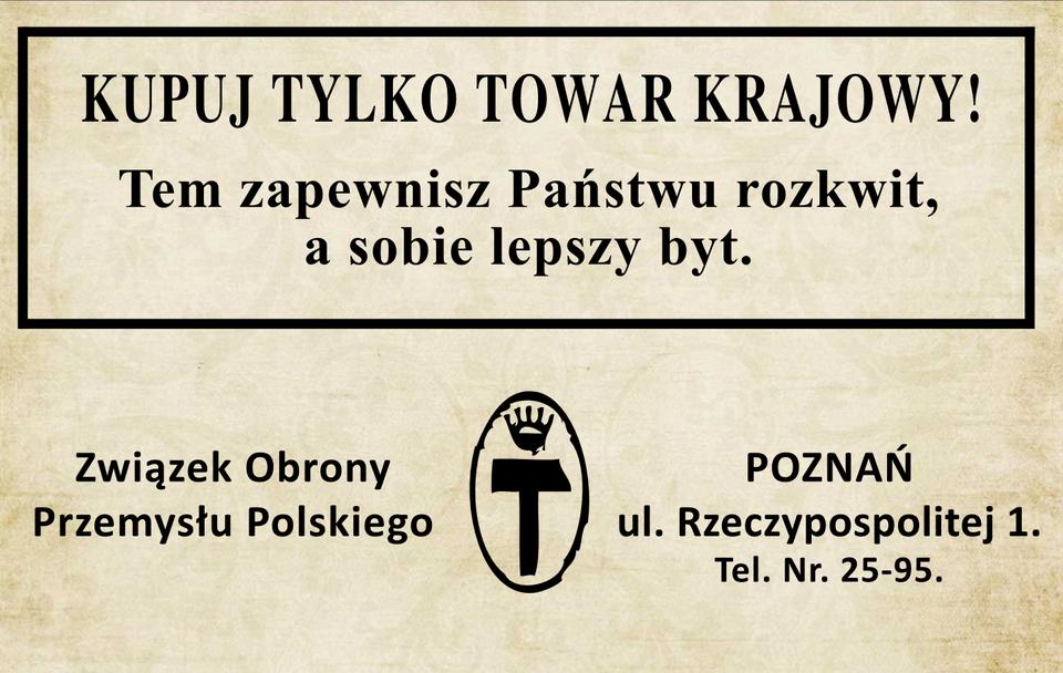Reklama rodzimych produktów Źródło: Contentplus.pl sp. zo.o., Sol90, Reklama rodzimych produktów, tylko do użytku edukacyjnego na epodreczniki.pl.