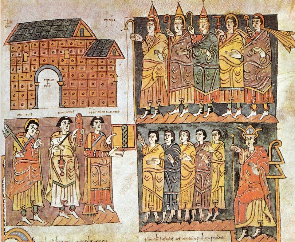 Codex Vigilanus spisany wXwieku Codex Vigilanus spisany wXwieku Źródło: licencja: CC 0.