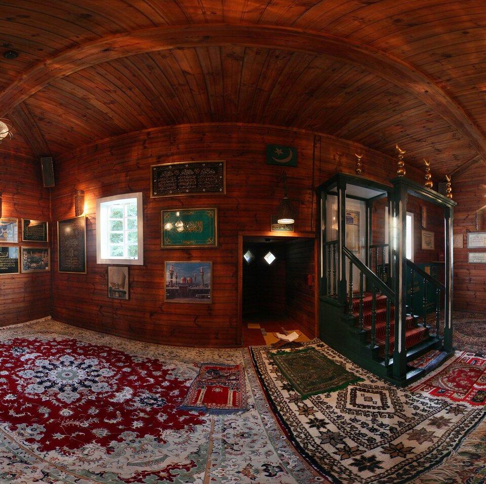 Wirtualna wycieczka po meczecie wKruszynianach