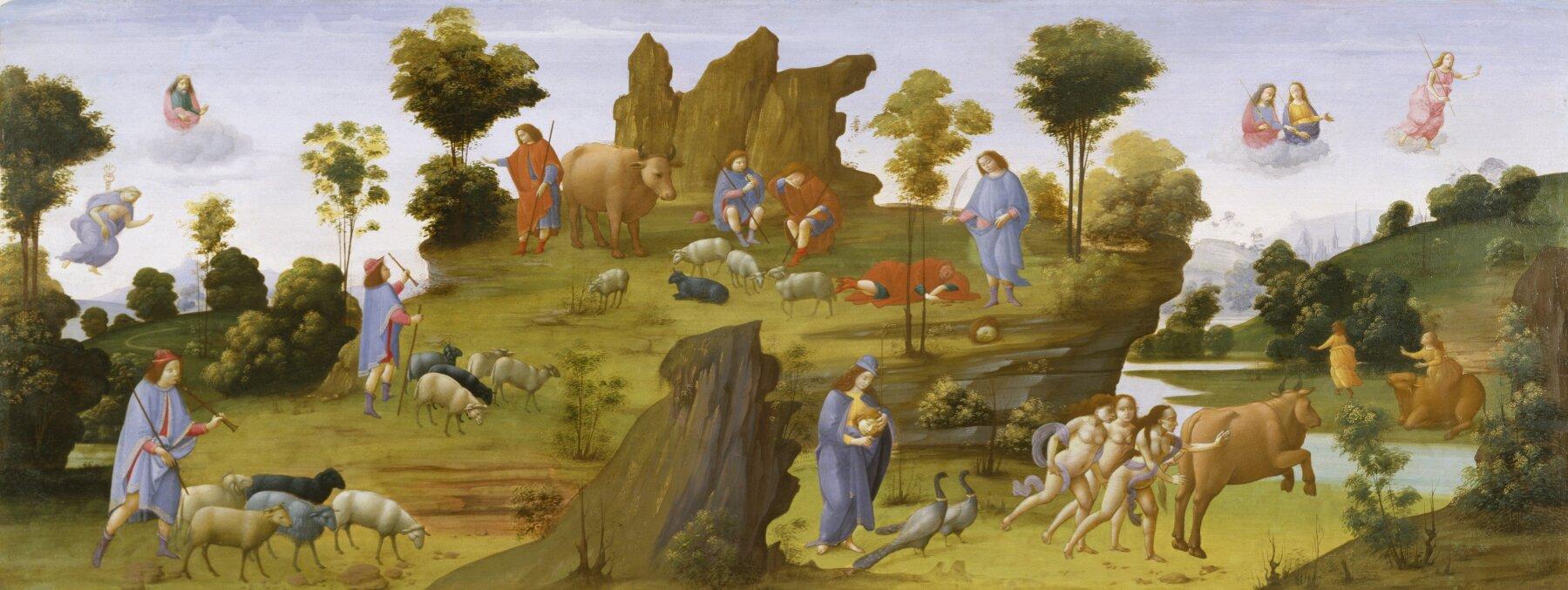 Mit oIo Źródło: Bartolomeo di Giovanni, Mit oIo, ok. 1490, Walters Art Museum, USA, domena publiczna.