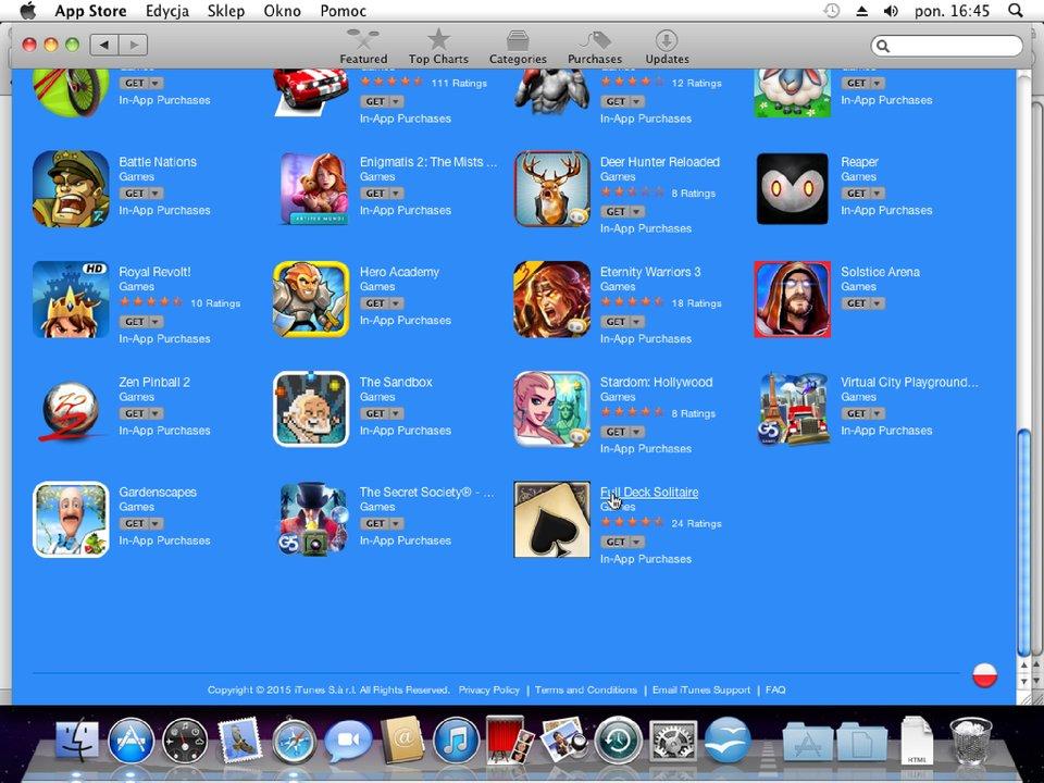 Zrzut okna 5 procesu instalacji programu wsystemie Mac OS X