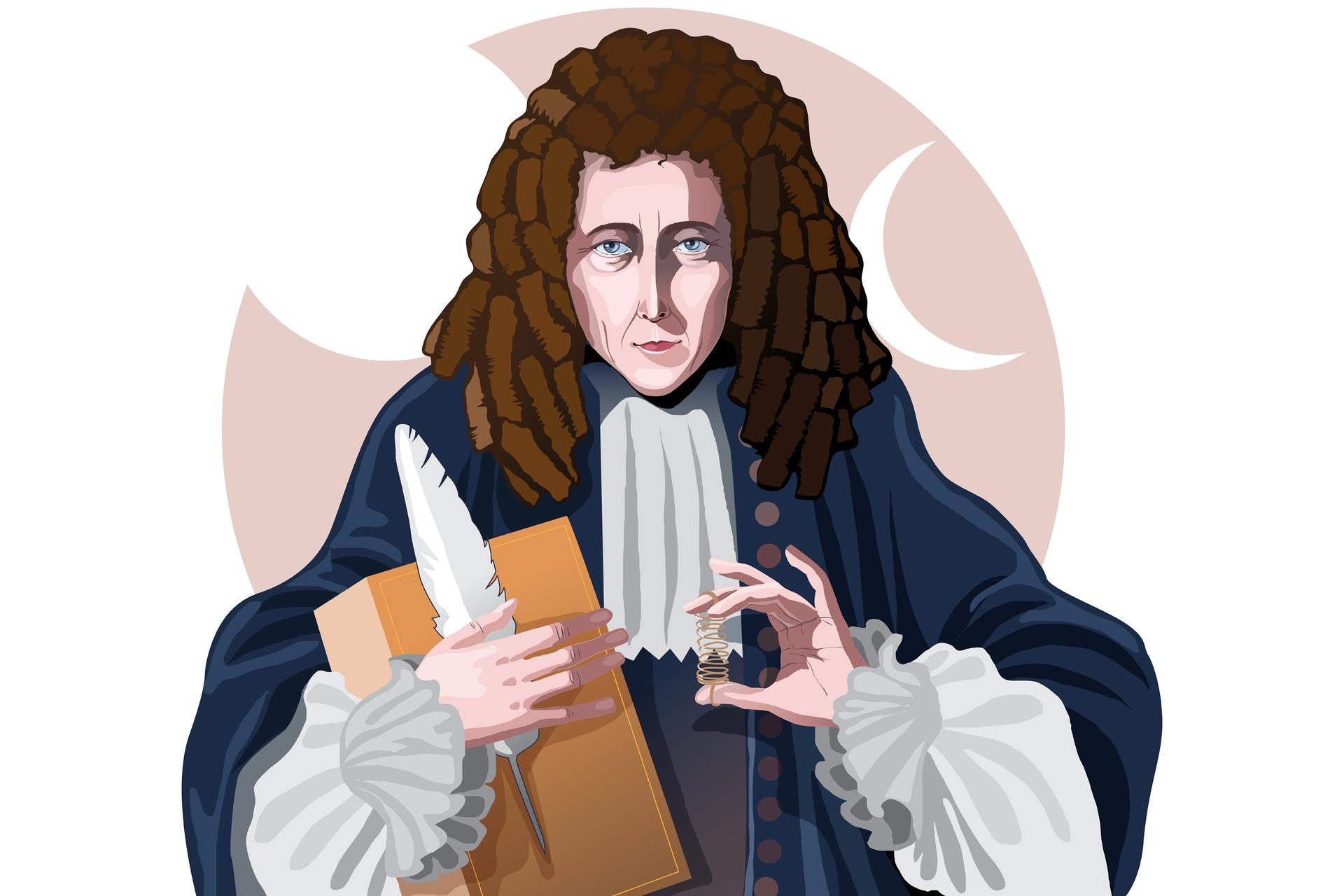 Zdjęcie przedstawiające Roberta Hooka