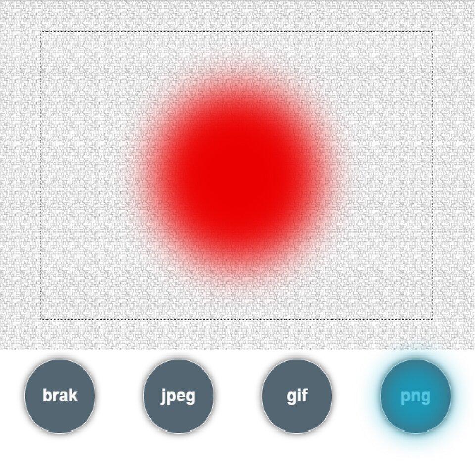 Interaktywna zabawa: Obraz zapisany wróznych formatach