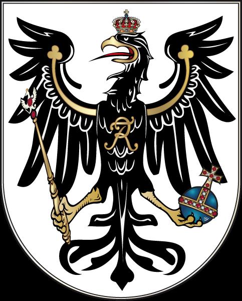 Herb Prus Herb Prus Źródło: David Liuzzo, Wikimedia Commons, licencja: CC BY-SA 4.0.