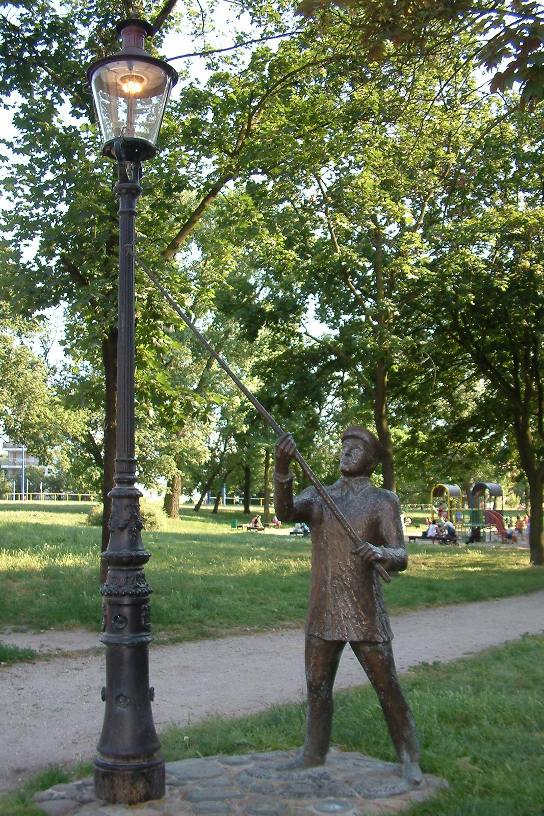 Latarnia gazowa (pomnik Zygi Latarnika Poznań)