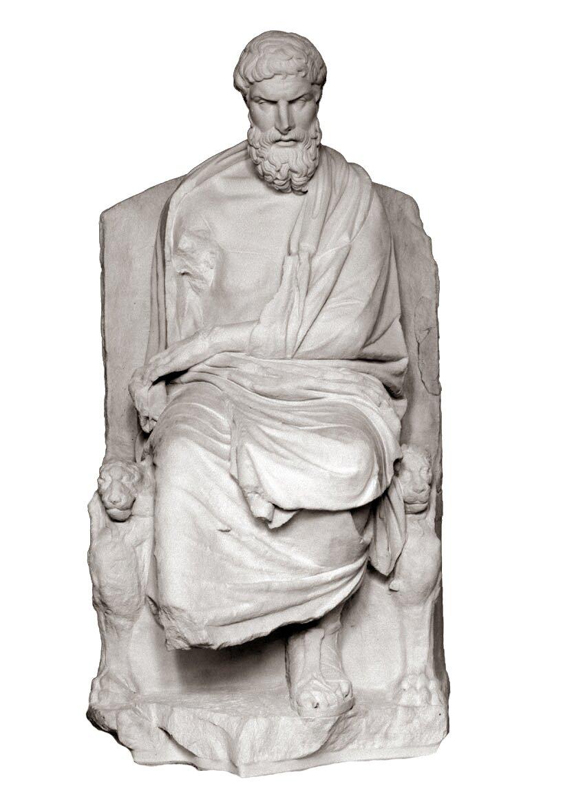 Epikur Epikur Źródło: Nobody60, rzeźba, licencja: CC BY 3.0.
