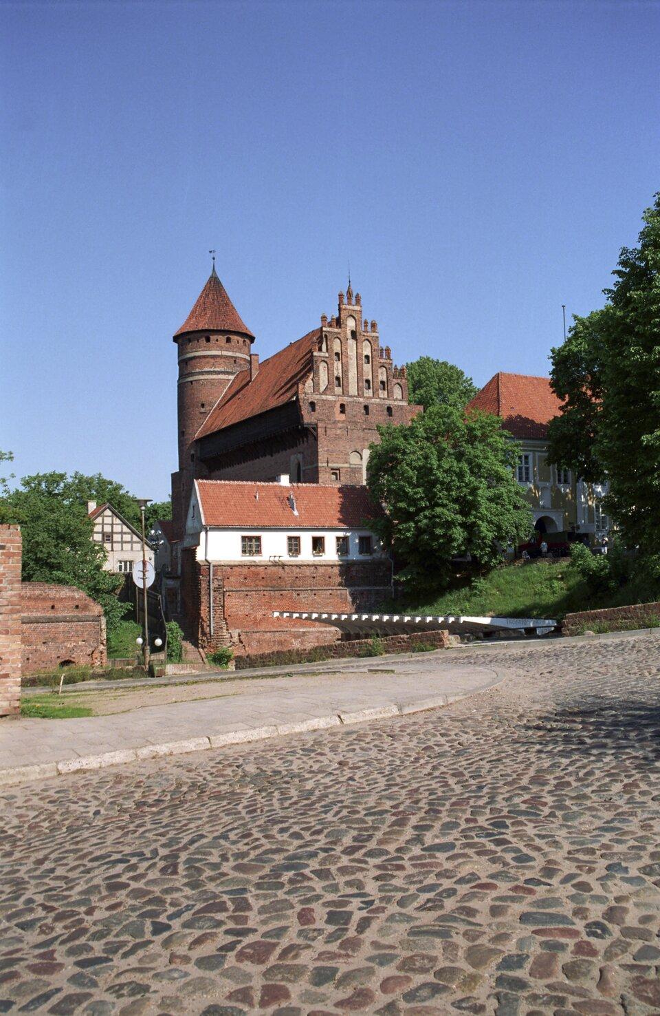 Zamek Kapituły Warmińskiejw Olsztyni