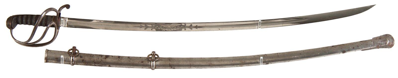 Szabla Szabla Źródło: Minnesota Historical Society's, fotografia barwna, licencja: CC BY-SA 2.0.